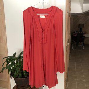 The Jetset Diaries Golden Island Mini Dress